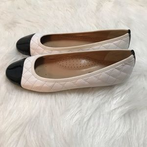 Neiman Marcus Shoes - Neiman Marcus Saucy Quilted Leather Ballet Flat